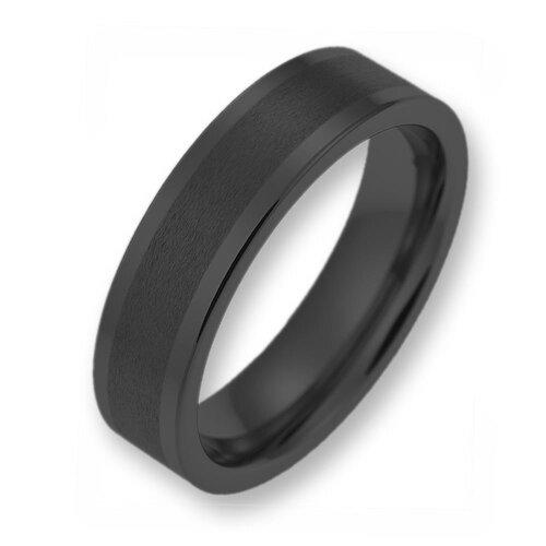 Wolfram ringe schwarz mit stein