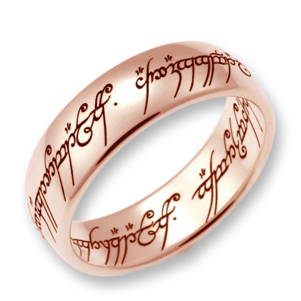 herr der ringe hobbit schmuck by schumann design der eine ring aus ma. Black Bedroom Furniture Sets. Home Design Ideas