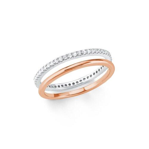s oliver jewels damen ring aus 925 silber mit zirkonia mode. Black Bedroom Furniture Sets. Home Design Ideas
