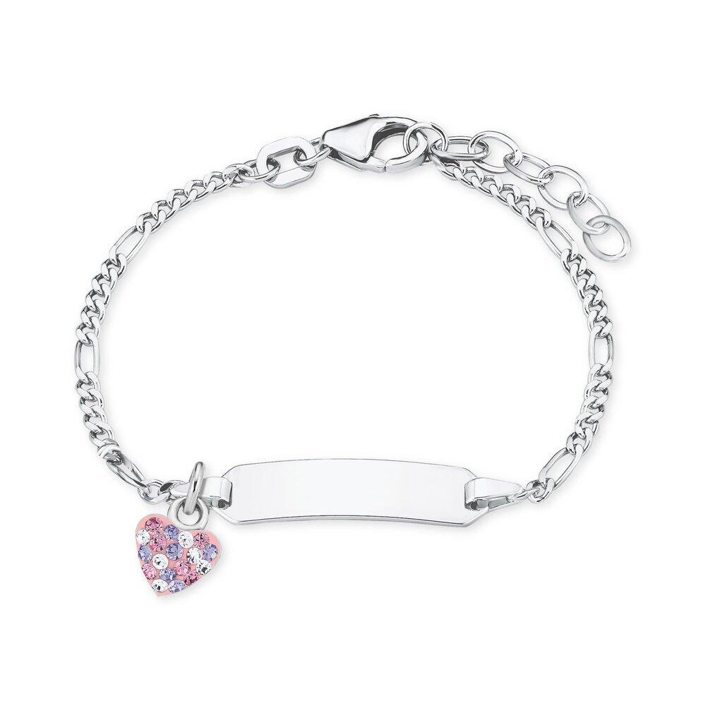 Prinzessin Lillifee Kinder Schmuck Armschmuckarmband Aus 925 Silberid Armband Mit Zirkoniaherz 2021115