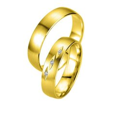 CORE by Schumann Design Trauringe/Eheringe aus 750 Gold (...